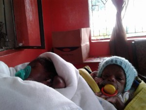 Twin girls Faith & Charity need your help